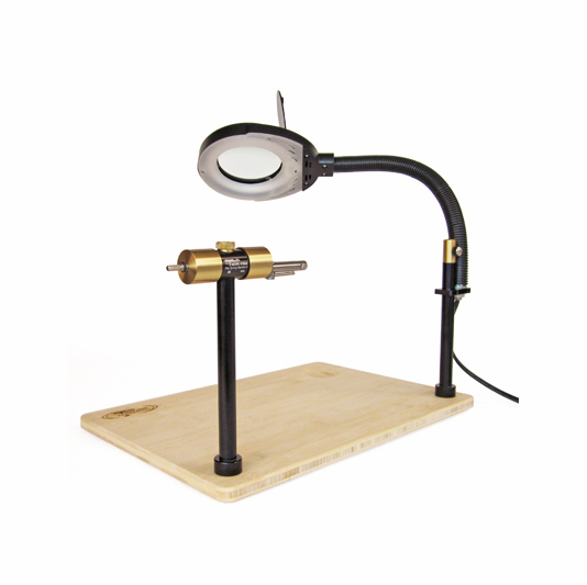 Norvise Fly Tying Lamp Magnifier Norvise Fly Tying Vises