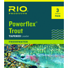 Rio Powerflex Trout 3-Pack Tapered Leaders