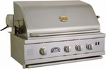 30 inch Built-In Sole Gourmet Grill with Deluxe Rotisserie and Rear IR Burner