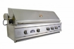 42 inch Built-In Sole Gourmet Grill with Deluxe Rotisserie and Rear IR Burner