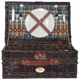 Black Tie Picnic Basket for Two