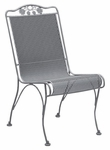 Briarwood High Back Dining Side Chair with Seat and Back Cushion