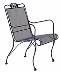 Briarwood High Back Lounge Chair with Seat and Back Cushion
