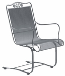 Briarwood High Back Spring Base Chair with Seat and Back Cushion