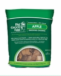 Dried Apple Wood Chunks for Big Green Eggs