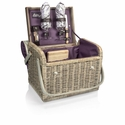 Kabrio Wine Basket with Built In Table Top