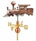 Locomotive Copper Weathervane