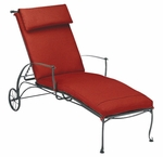 Maddox Adjustable Chaise Lounge with Seat Cushion