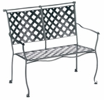 Maddox Stackable Bench with Cushion