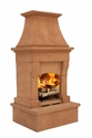 Pacific Living Midsize Fireplace
