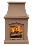 Pacific Living Pedestal Fireplace