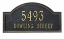 Providence Arch Wall Address Plaque