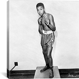 12 Year Old Cassius Clay (Muhammad Ali) By iCanvas Canvas Print #10010