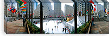 360 degree view of a city, Rockefeller Center, Manhattan, New York City, New York State, USA #PIM8108