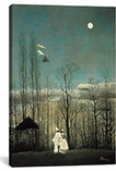 A Carnival Evening 1886 By Henri Rousseau Canvas Print #1216