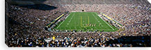 Aerial view of a football stadium, Notre Dame Stadium, Notre Dame, Indiana, USA #PIM2003