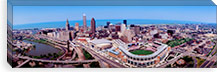 Aerial View Of Jacobs Field, Cleveland, Ohio, USA #PIM119