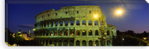 Ancient Building Lit Up At Night, Coliseum, Rome, Italy #PIM3461
