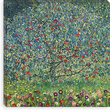 Apfelbaum (Apple Tree) By Gustav Klimt Canvas Print #14013