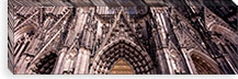 Architectural detail of a cathedral, Cologne Cathedral, Cologne, North Rhine Westphalia, Germany #PIM8835