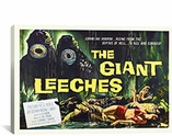 Attack of The Giant Leeches Vintage Horror Movie Poster Canvas Print #5068