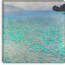 Attersee (Lake Attersee) By Gustav Klimt Canvas Print #14015