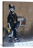 BBoy By Banksy Canvas Print #2036