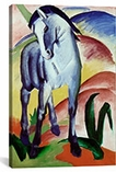 Blue Horse By Franz Marc Canvas Print #1892