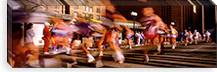 Blurred Motion Of Marathon Runners, Houston, Texas, USA #PIM48