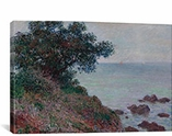 Bords De La Mediterranee Temps Gris 1888 By Claude Monet Canvas Print #1054