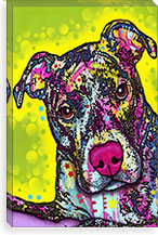 Brindle By Dean Russo Canvas Print #4226