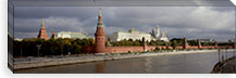 Buildings along a river, Grand Kremlin Palace, Moskva River, Moscow, Russia #PIM6208