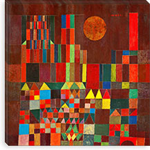 Burg und Sonne, 1928 By Paul Klee Canvas Print #15235