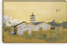 Calm Spring in Jiangnan By Takeuchi Seiho Canvas Print #13708