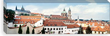 Church in a city, St. Nicholas Church, Mala Strana, Prague, Czech Republic #PIM5038