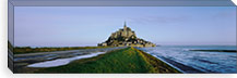 Church on the beach, Mont Saint-Michel, Normandy, France #PIM3768