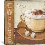 Coffee Lovers By Lisa Audit Canvas Print #9097