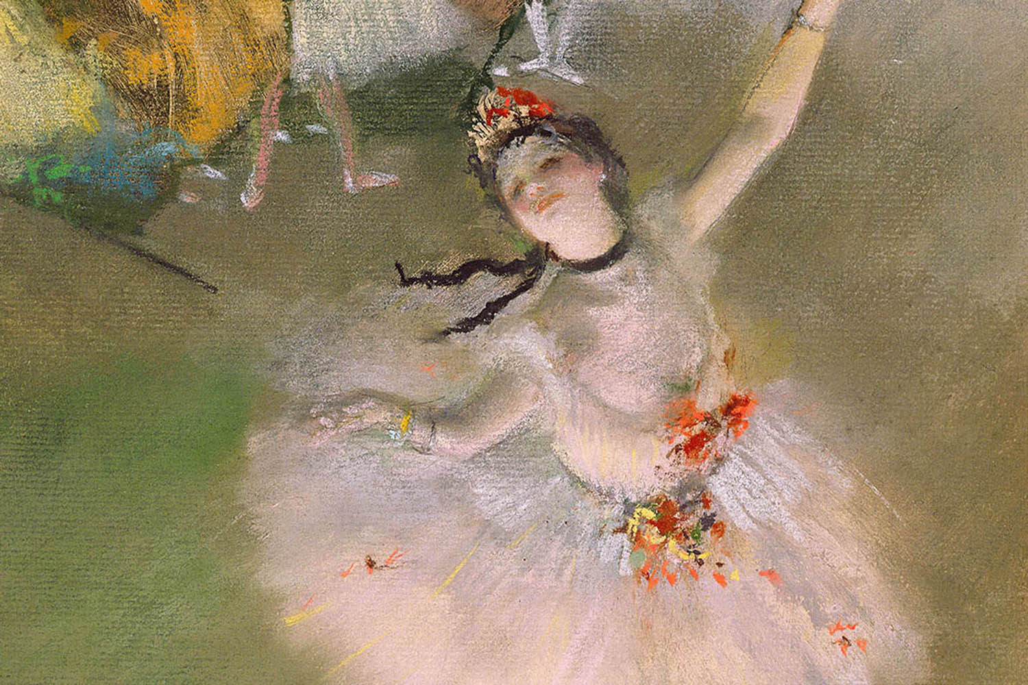 Dancer On The Stage by Edgar Degas #1066