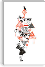 Diamond By Budi Satria Kwan Canvas Print #13848