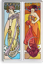 Documents Decoratifs (1902) By Alphonse Mucha Canvas Print #15191