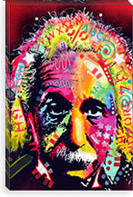 Einstein II By Dean Russo Canvas Print #13537