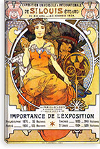 Exposition Universelle & Internationale de St. Louis (1903) By Alphonse Mucha Canvas Print #15175