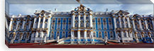 Facade of a palace, Catherine Palace, Pushkin, St. Petersburg, Russia #PIM6216