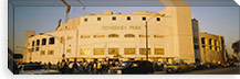 Facade of a stadium, old Comiskey Park, Chicago, Cook County, Illinois, USA #PIM3752