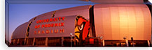 Facade of a stadium, University of Phoenix Stadium, Glendale, Phoenix, Arizona, USA #PIM8301