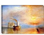 Fighting Temeraire by Joseph William Turner Canvas Giclee Art Print #305