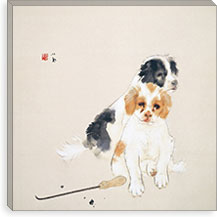Fireside By Takeuchi Seiho Canvas Print #13709