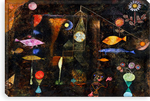 Fish Magic, 1925 By Paul Klee Canvas Print #15239