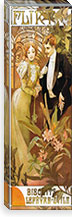 Flirt' Biscuits by 'Lefevre-Utile' (1899) By Alphonse Mucha Canvas Print #15163