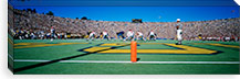 Football Game, University Of Michigan, Ann Arbor, Michigan, USA #PIM1959